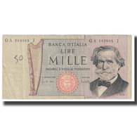 Billet, Italie, 1000 Lire, 1969, 1969-02-26, KM:101a, TB - 1000 Lire