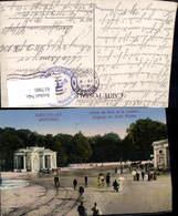 617985,Bruxelles Brüssel Entree Du Bois De La Cambre Eingang Stadtwald Belgium - Ohne Zuordnung