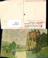 617982,Künstler Ak Chateau De Walzin Near Dinant Belgium - Belgien