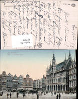 617979,Bruxelles Brüssel La Grand Place Rathausplatz Belgium - Belgien