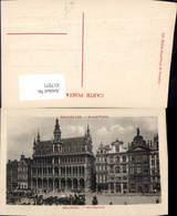 617971,Bruxelles Brüssel Grand Place Marktplatz Belgium - Belgien