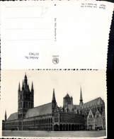 617963,Foto Ak Ypres Ypern Les Halles En 1914 Belgium - Belgien