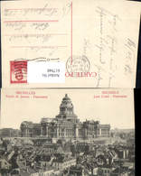 617948,Bruxelles Brüssel Palais De Justice Panorama Belgium - Ohne Zuordnung
