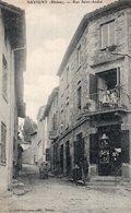S2182 Cpa 69 Savigny - Rue Saint André - Autres Communes