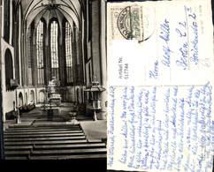 617744,Foto Ak Bad Wilsnack Wunderblutkirche Kirche Innenansicht - Deutschland