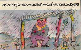 Comics Humor Comic Comique Humour - No Place Like Home - Written 1971 (?) - Comic Series S-7573-B - 2 Scans - Humour