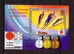 200f * GUINEA ÄQUATORIAL BLOCK * ADIOS SAPPORO 1972 ** !! - Winter 1972: Sapporo