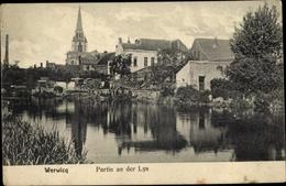 Cp Wervik Wervicq Lille Hauts-de-France, Partie An Der Lys - France