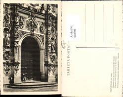 618799,Tepotzotlan Mexico Detalle De La Portada Principal Del Templo Eingang - Mexiko