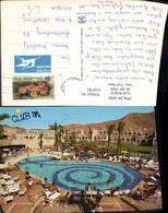 618785,Eilat Club In Hotel Resort Schwimmbad Israel - Ansichtskarten