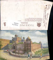 618784,Künstler Ak Delhi Fort Lahore Gate India Pub Raphael Tuck Sons 8983 - Ansichtskarten