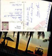 618766,A Sun-set View At Pattaya In Chonburi Province Of Thailand Strand Schiff Boot - Ansichtskarten