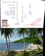 618765,Thailand Phuket Province Ka Lim Beach Strand Palmen - Ansichtskarten