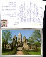 618764,Srisawai Temple Sukhothai Historical Park Thailand - Ansichtskarten