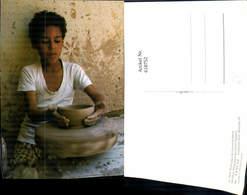 618752,Wissa Wassaf Giza Gizeh Egypt Volkstypen Töpfern - Ägypten