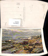 618747,Künstler Ak B. Richter Glacis Der Festung Tanger M. Klippen Marokko - Marokko