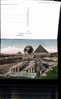 618741,Foto Ak The Great Sphinx Of Giza Gizeh Egypt - Ägypten