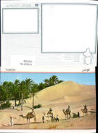 618704,Tunisie Caravande Du Sahara Karawane Kamel - Tunesien