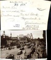 618687,Foto Ak Calcutta Kalkutta Esplanade Junction Straßenbahn Auto India - Indien