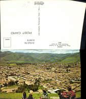 618674,Cuzco Vista Panoramica De La Ciudad Peru Ureinwohner Volkstypen - Peru