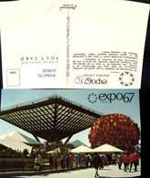 618658,Montreal Expo 1967 Le Pavillon Du Canada Ausstellung - Kanada