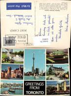 618652,Mehrbild Ak Toronto Ontario Old Fort York Casa Loma The Marina Canada - Kanada