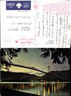 618651,Vancouver Lions Gate Bridge At Dusk Brücke Canada - Kanada