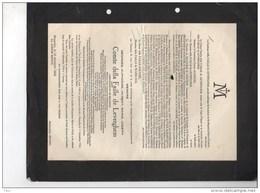 Messire Georges Della Faile De Leverghem Ambassadeur Belgique °BOisscot 1869 +11/12/1944 Brasschaat Diplomatique De La - Obituary Notices