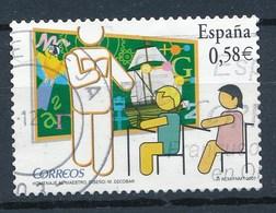 Spanien 2007 Mi. 4199 Gest. Schule Kinder Lehrer - 1931-Heute: 2. Rep. - ... Juan Carlos I