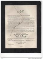 WOII Lieutenant Aviateur Pigault De Beaupré °Oostakker 1916+2/3/1940 Ranst Service Commandé Chateau D'Hulst Langerbrugge - Obituary Notices