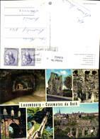 618452,Casemates Du Bock Burg Viadukt Luxembourg - Ansichtskarten