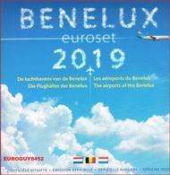 BENELUX SET 2019 - DE LUCHTHAVENS VAN DE BENELUX - Belgium