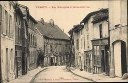 Cp Verdun Meuse, Rue Montgaud Et Gendarmerie - Frankrijk