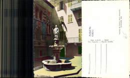 618211,Foto Ak Monaco Interieur Cour Palais De Justice Statue Brunnen - Ohne Zuordnung