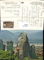 618097,Meteora Meteores Monastere De Roussanou Kloster Greece - Griechenland