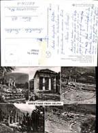 618087,Mehrbild Ak Delphi Tempel Ruine The Tholos Apollo Temple Greece - Griechenland