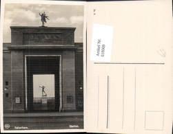 618069,Kopenhagen Kobenhavn Stadion Statue Bogenschütze Sport Denmark - Cartes Postales