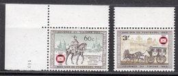BELGIUM - 1966 PHILATELIC ANNIVERSARY SET (2V) FINE MNH ** SG 1997-1998 - Belgium