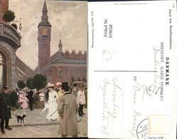 618058,Künstler Ak Kopenhagen Kobenhavn Raadhuspladsen Denmark - Cartes Postales