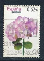 Spanien 2009 Mi. 4391 Gest. Blume Hortensie - 1931-Heute: 2. Rep. - ... Juan Carlos I
