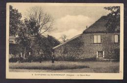 CPA 88 - SAINT-ETIENNE-les-REMIREMONT - Le Saint-Mont - TB PLAN MAISON Château Avec ANIMATION Devant - Saint Etienne De Remiremont