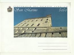 1994 - San Marino - Palazzo Pubblico - Busta Postale - Castelli