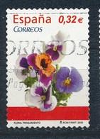 Spanien 2009 Mi. 4450 Gest. Blume Pensamiento - 1931-Heute: 2. Rep. - ... Juan Carlos I