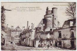 MILITARIA . GUERRE 1914.1918 . LA FRANCE RECONQUISE . DIVES PRES LASSIGNY . RUINES DU CHATEAU . - War 1914-18