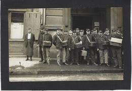 CPA Poste Facteur Carte Photo Voir Scan Du Dos Lyon - Poste & Facteurs