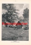 863 Jos. Rummelspacher Heidedorf  Druck 1904 !! - Prints