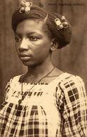 Cpa CONGO BELGE, Jeune Négresse Civilisée, Circulée 1927 BOMA - Belgian Congo - Other