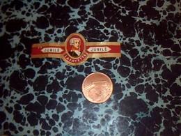 BAGUE DE CIGARE   Marque  Jubiè Belgique 1967  Genre De Bague Collection La Fayette - Sigarenbandjes