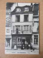 Gisors (Eure) - Café Andrieux - Carte Animée, Non-circulée - Achat Immédiat - Gisors