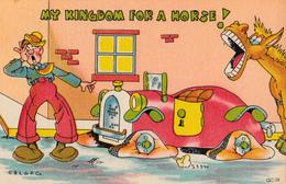 Comics Humor Comic Comique Humour - Kingdom For A Horse - 2 Scans - Humour